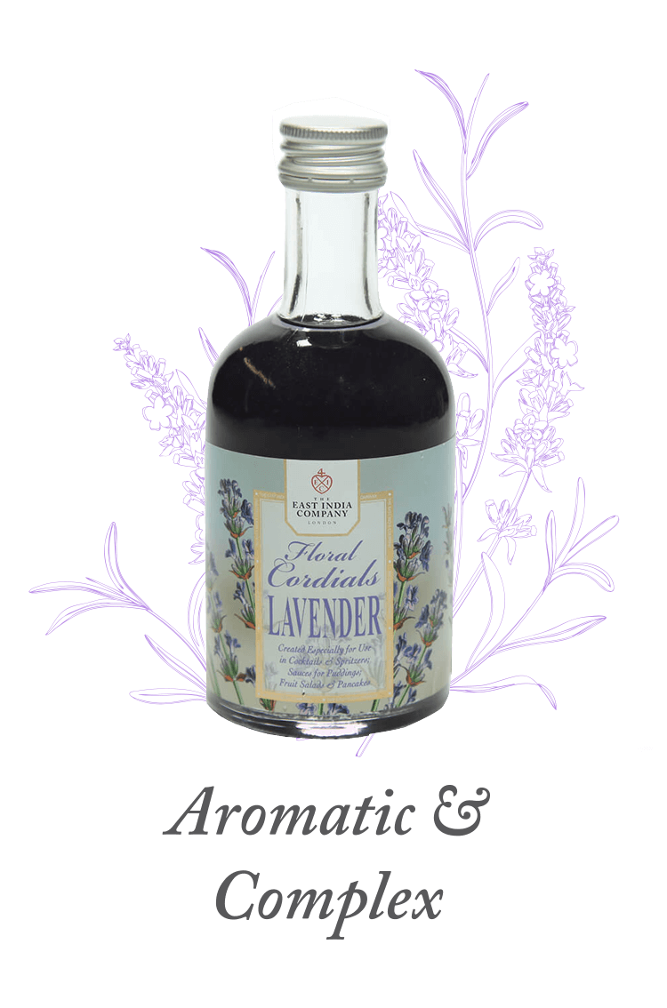 Lavender Cordial available at The East India Company