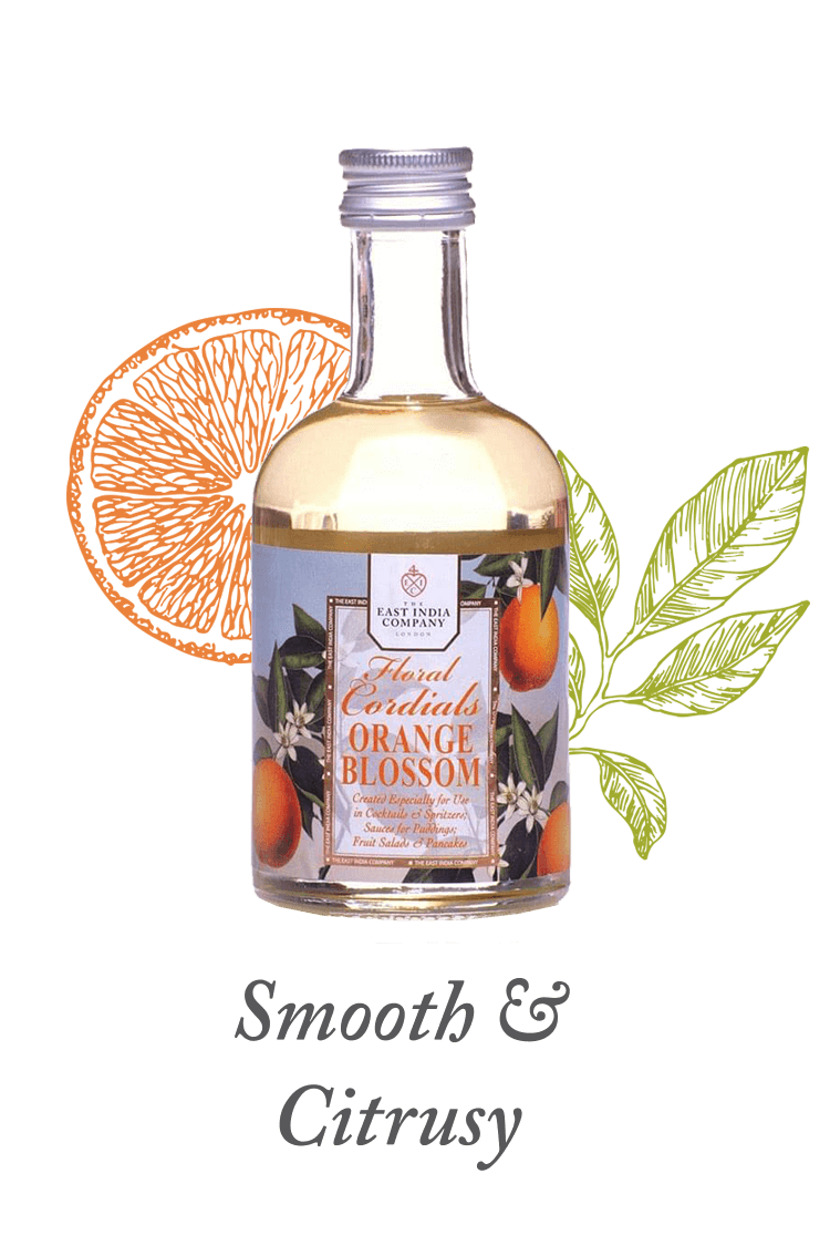 Orange Cordial available at The East India Company