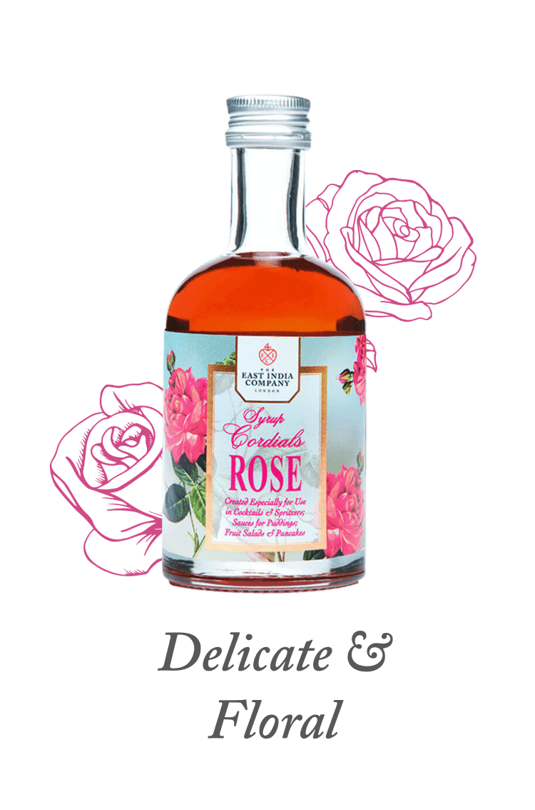 Rose Cordial available at The East India Company