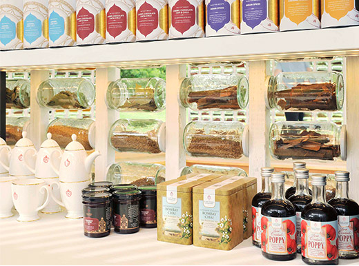 Join The East India Company pop-up store at the Spice Pavillion inside Royal Botanical Gardens, Kew