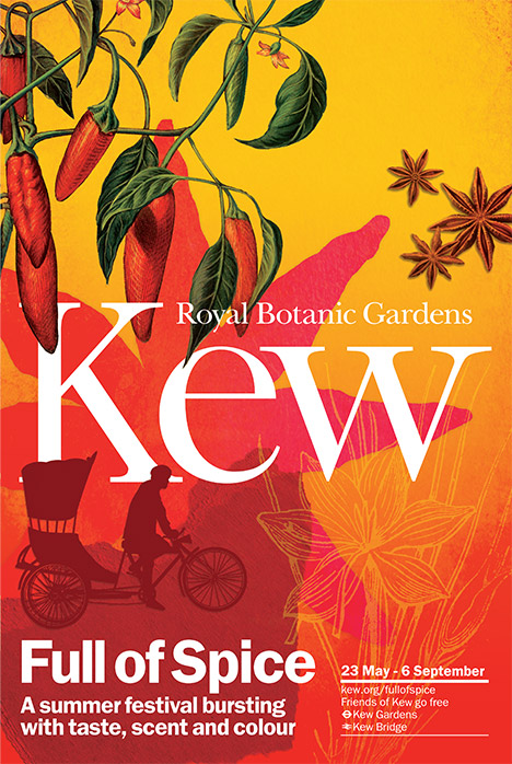 Join us during the Spice Festival at Royal Botanical Gardens, Kew