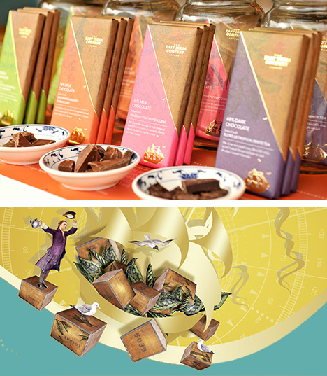 Chocolate Bars inspired by alchemy