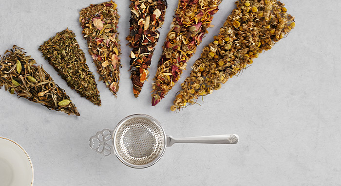 Loose Leaf White Teas and Herbal Infusions